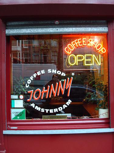 Coffeeshop na Holanda