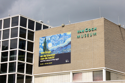 Ponto turístico em Amsterdam: Museu do Van Gogh