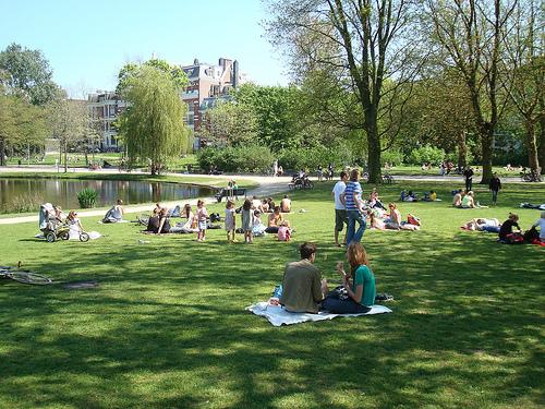 Atração turística em Amsterdam: Vondelpark