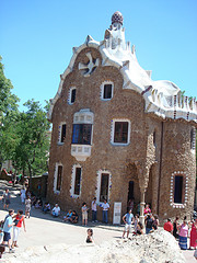 Entrada do Park Güell - Barcelona