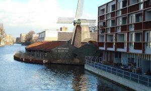 Moinhos de vento em Amsterdam