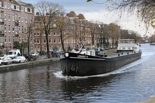 Navio em Amsterdam