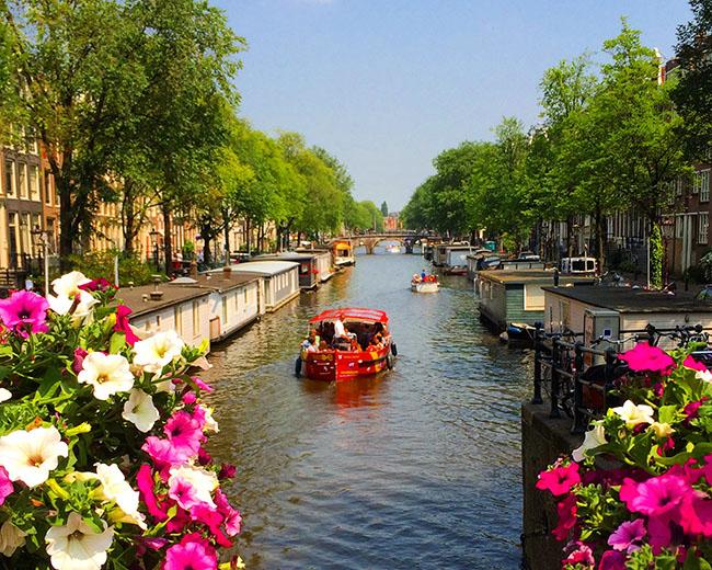 Dicas de Amsterdam no verão