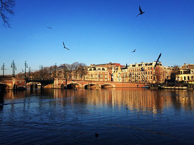 Trabalhar em Amsterdam