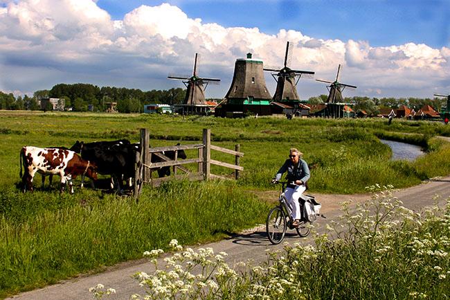 Zaanse Schans: pertinho de Amsterdam