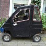 Carros na Holanda: o mini-carro