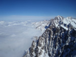 Ao redor do lago III: Aiguille du Midi e Mont-Blanc