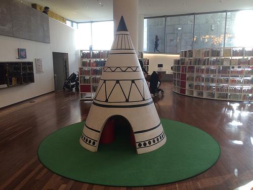 biblioteca amsterdam cabaninha