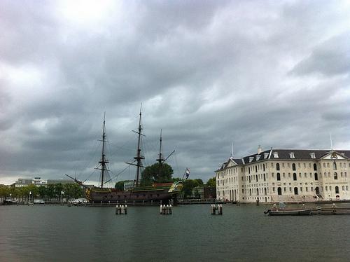 museu maritimo amsterdam
