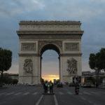 Foto do dia – Arco do Triunfo visto da Champs Élysées