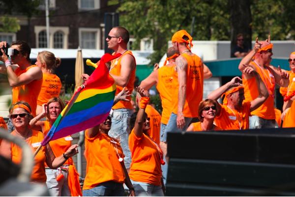 Laranja também uma das cores do arco-íris (Foto © 2009 by Ron Beenen)