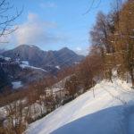 Foto do dia – no meio da neve tinha um caminho