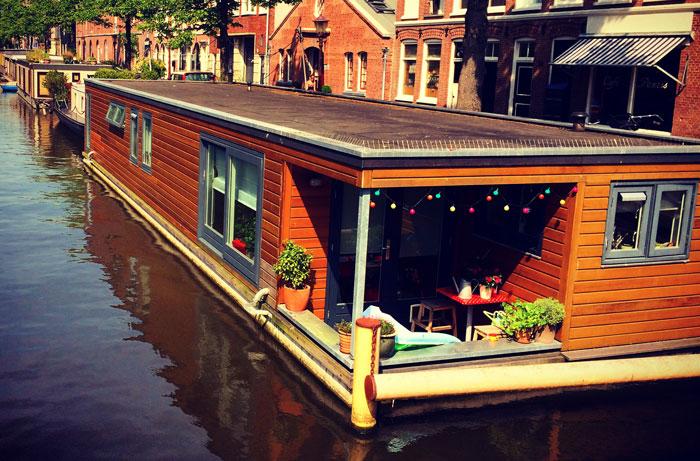 Casa barco em Amsterdam