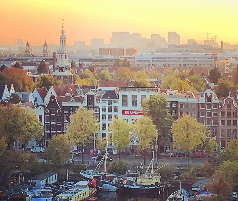 Uma dica local de Amsterdam: vista