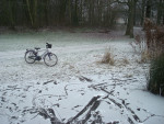 Foto do dia – Bicicletas para patins na Amsterdam congelada