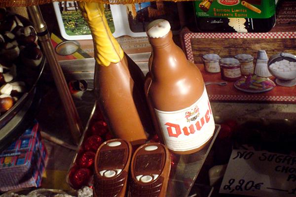 Bruges: cerveja de chocolate