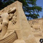 Esculturas de areia em Haia – 2010