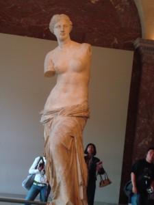 Dica de fotografia em Paris: Venus de Milo