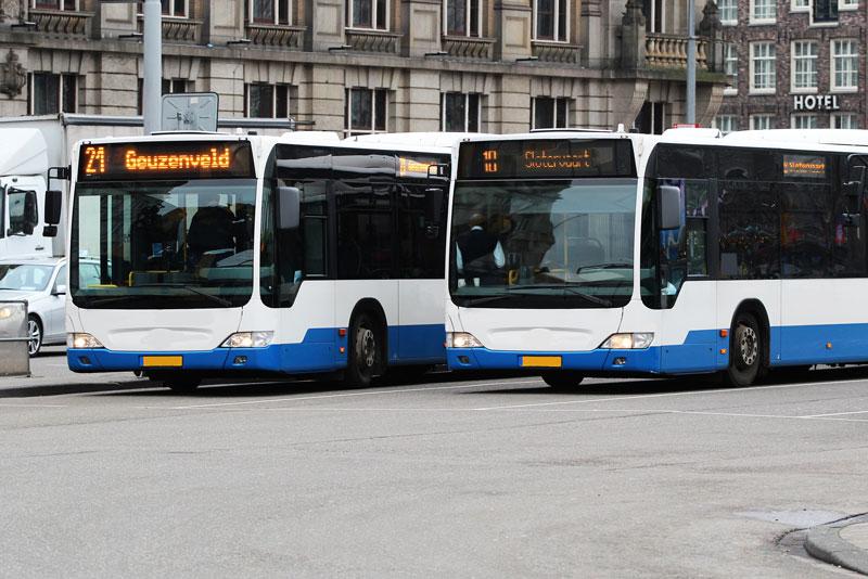 Transporte público de Amsterdam: o ônibus