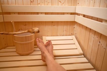 Vá à sauna!