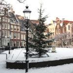 O inverno na Holanda