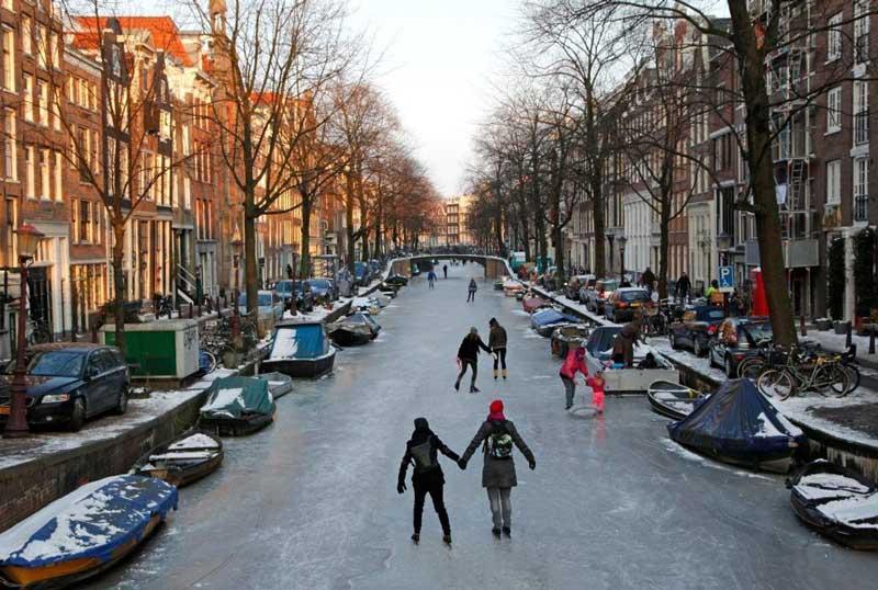 O que fazer em Amsterdam no inverno