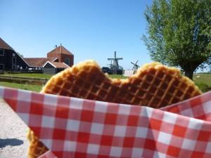 Stroopwafel em Zaanse Schans