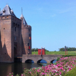 Castelo medieval na Holanda: Muiderslot