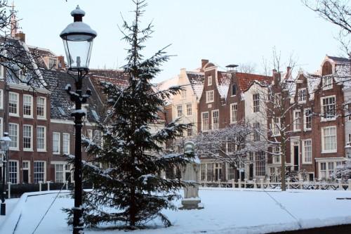 Begijnhof no inverno