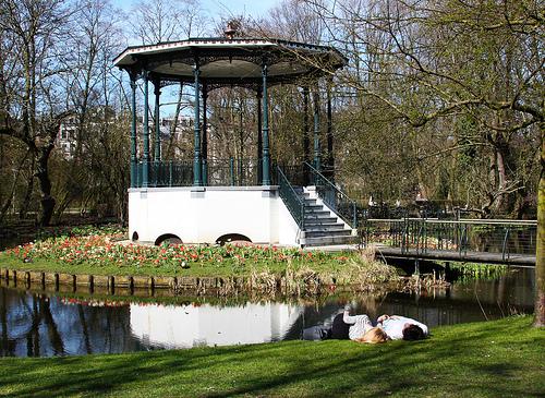 Vondelpark Amsterdam primavera