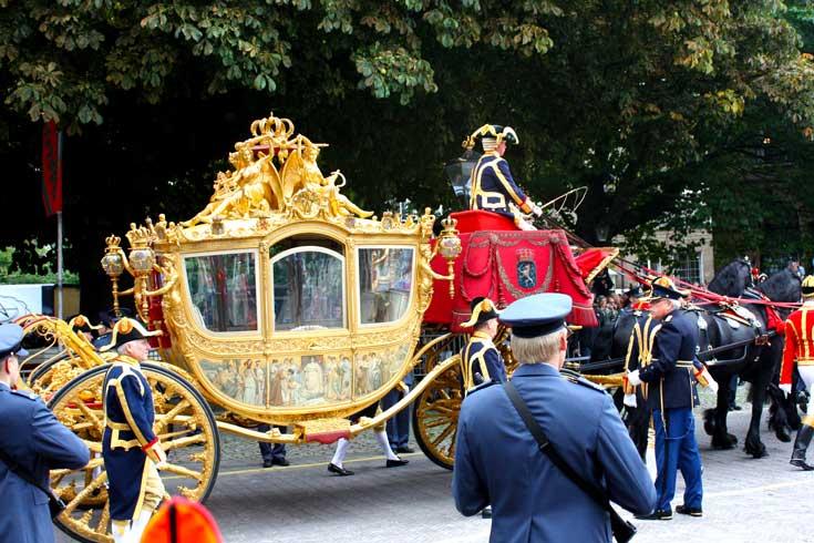 Carruagem de ouro da Rainha da Holanda