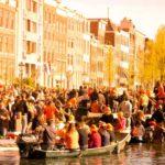 Como é o Dia do Rei em Amsterdam?