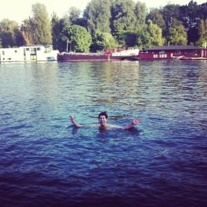 Mergulhando no Amstel