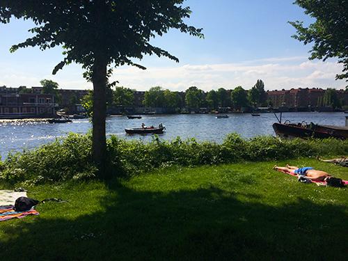 Nadando Amstel