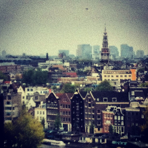Amsterdam: Skylounge vista