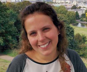 Heloisa, a autora do guia de Londres