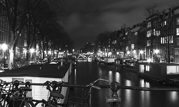 Amsterdam de noite