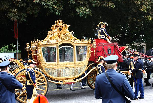 Carruagem de Ouro haia Holanda