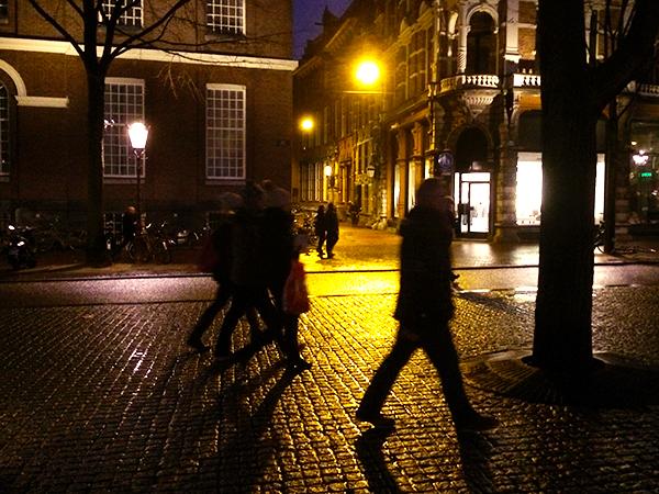 Spui de noite na chuva
