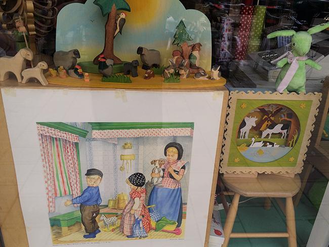 Loja para crianças em Amsterdam: brinquedos alternativos