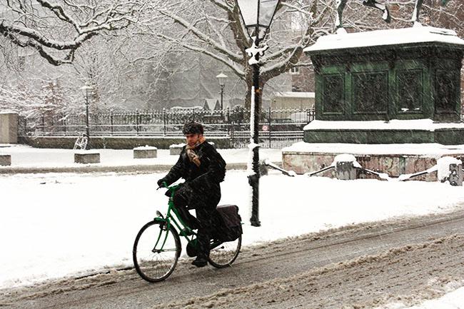 Bicicleta na neve: Holanda