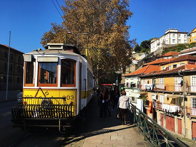 Eléctrico em Porto, Portugal