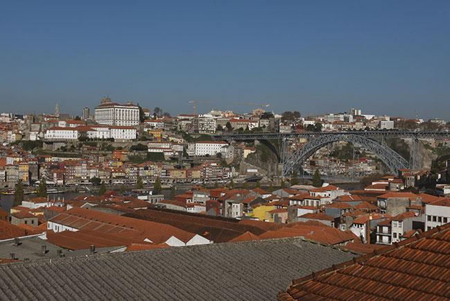 Visto do Porto a partir de Gaia