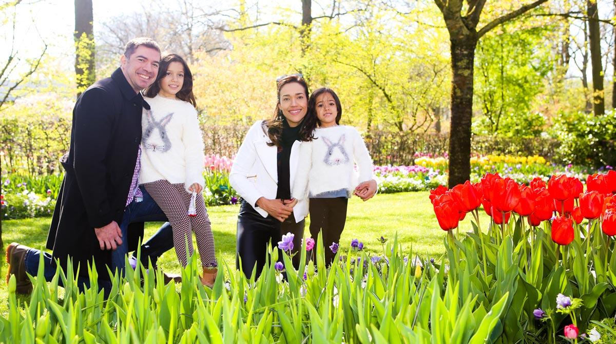 Ensaio de fotos em Amsterdam com a familia