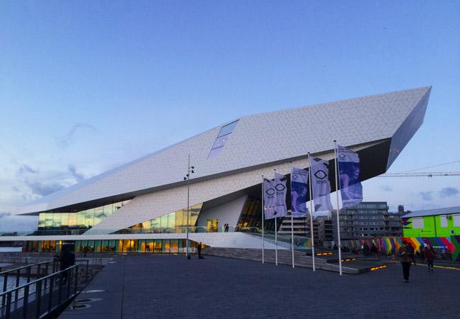Dicas românticas de Amsterdam: eye Film Museum