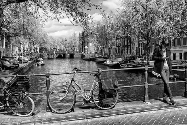 Conexao chip de celular em Amsterdam