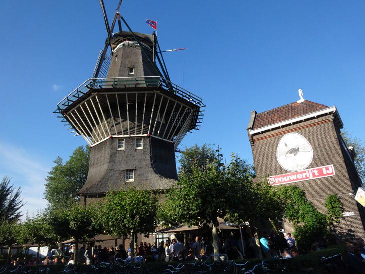 Cervejaria do moinho em Amsterdam
