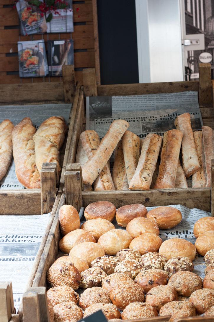 Noordermarkt Amsterdam: Barraca de pães sensacional na feira de orgânicos