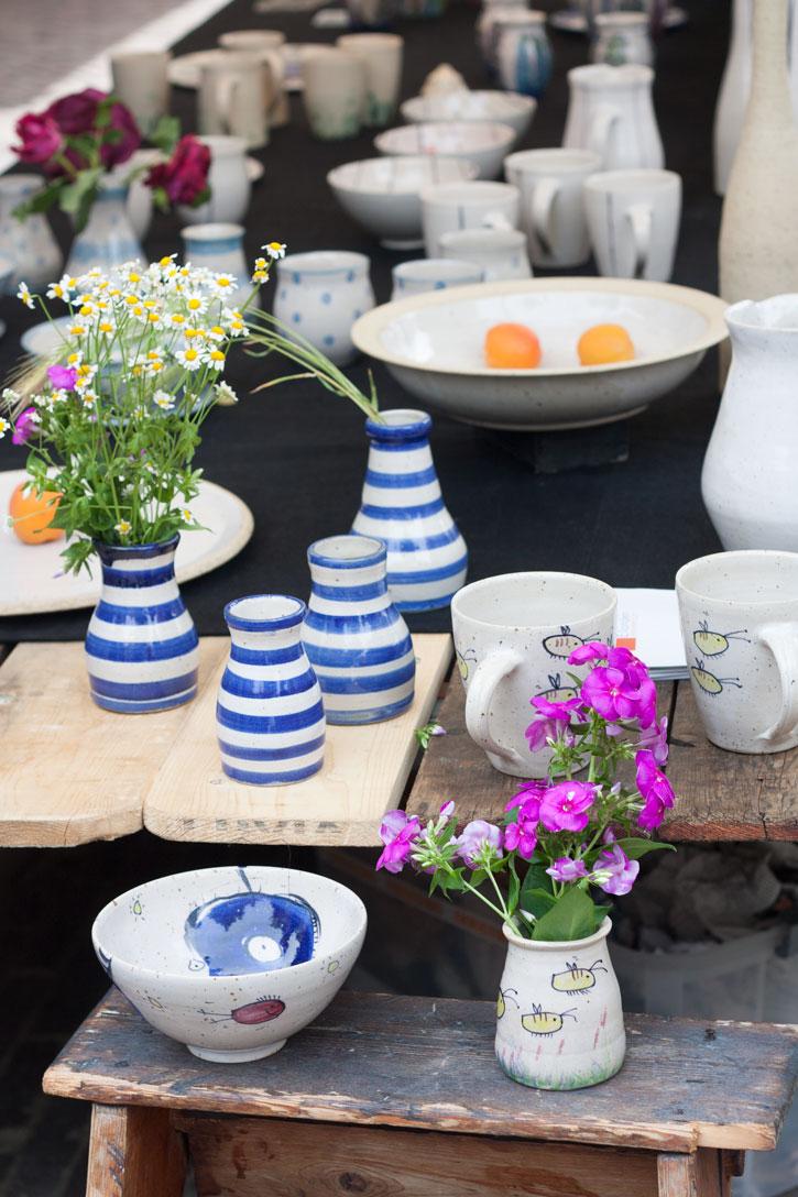 Noordermarkt Amsterdam: Barraca de porcelana