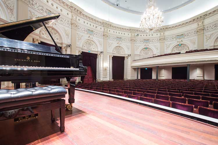 Concertgebouw em Amsterdam